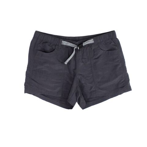 The North Face Womens Shorts Gray Size Large L Buckle Weathered Cargo