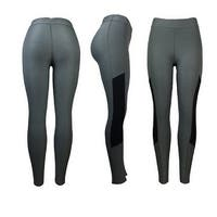 Women's Athletic Fitness Sports Yoga Pants Large/X-Large-Grey/Black