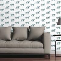Circle Art Group Removable Wallpaper Tile - Gordon Setter Dog - Multi-color
