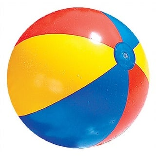 Link to Classic Inflatable Red and Blue Beach Ball Swimming Pool Toy, 24-Inch Similar Items in Water Sports Equipment