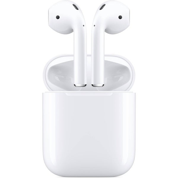 Apple - AirPods with Charging Case (2nd Generation) - White. Opens flyout.