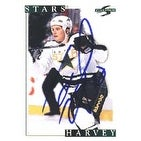 Todd Harvey Dallas Stars 1995 Score Autographed Card This item comes with a certificate of authenticity from Autograp