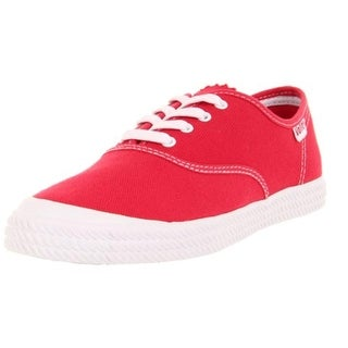 Volley Womens Canvas Lace Up Fashion Sneakers