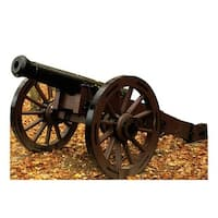 Advanced Graphics 1975 48 x 76 in. Civil War Cannon Cardboard Standup