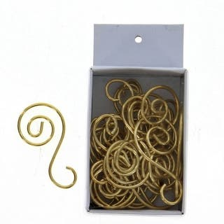 Old World Christmas Christmas Ornament S-Hooks (24 Pack)|https://ak1.ostkcdn.com/images/products/is/images/direct/a4d08109590f47080eb0a06a240be33fca42fc53/Gold-S-Hooks.jpg?impolicy=medium