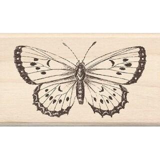 "Inkadinkado Mounted Rubber Stamp 1.75""X3""-Big Butterfly"