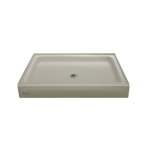 Jacuzzi Cay4832sc Cayman 32 X 48 Single Threshold Shower Pans With Center Drain