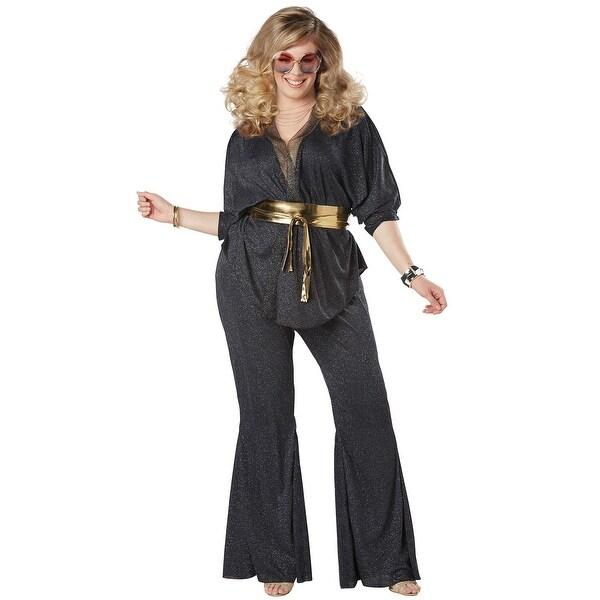 Shop California Costumes Disco Dazzler Plus Size Adult Costume