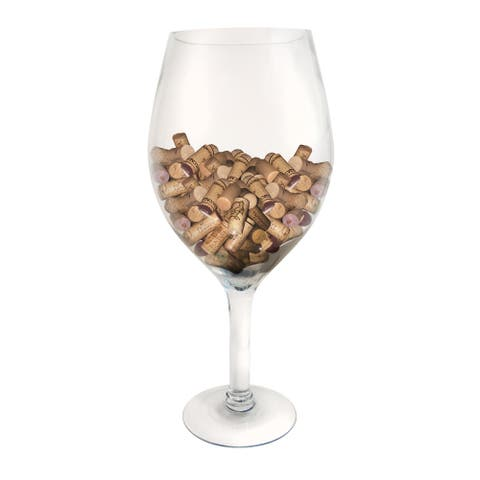 Epicureanist Large Decorative Wine Glass