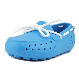 People Footwear The Senna Toddler Moc Toe Synthetic Blue Loafer