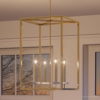 """Link to Luxury Cosmopolitan Chandelier, 26.5""""H x 15""""W, with  Transitional Style, Palladian Gold Finish by Urban Ambiance Similar Items in Chandeliers"""