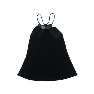 Stoosh Womens Juniors Jersey Embellished Halter Top