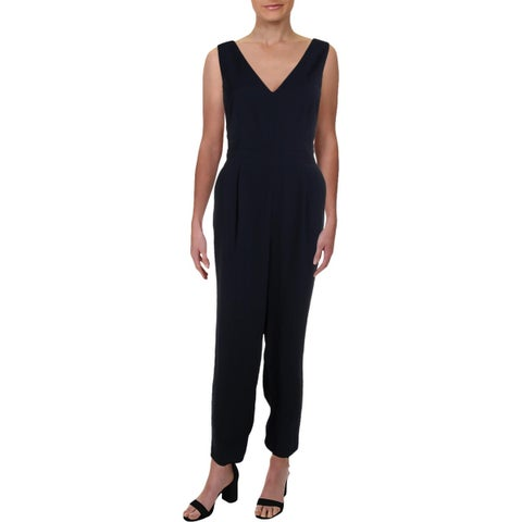 Eliza J Womens Jumpsuit Cut-Out Sleeveless