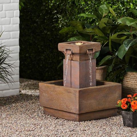 Asgard Outdoor Outdoor Cascading Fountatin by Christopher Knight Home