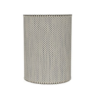 """Link to Aspen Creative Drum (Cylinder) Shaped Spider Construction Lamp Shade in Multicolor Weave (8"""" x 8"""" x 11"""") Similar Items in Lamp Shades"""