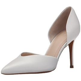 Marc Fisher Womens Tammy Leather Pumps D'Orsay Heels - 8 medium (b,m)