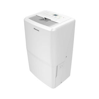 Hisense CDH-70K1SFRE 12 Inch Wide 70 Pint Energy Star Certified Freestanding Deh - White - N/A