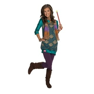 Wizards of Waverly Place Alex Dress Kids Costume - small (size 4-6)