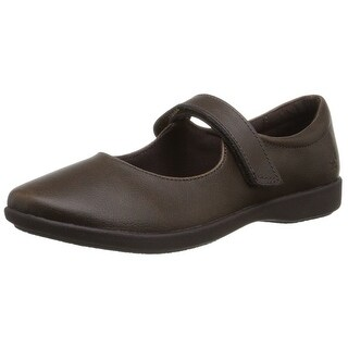 Hush Puppies Womens lexi Leather Closed Toe Mary Jane Flats