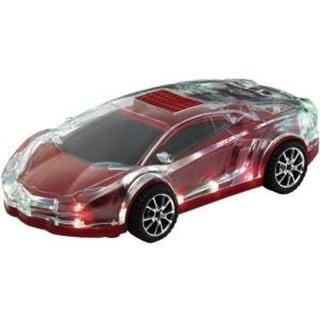 Qfx - Bt154red - Mini Car Spkr Fm Bt Tf Usb Red