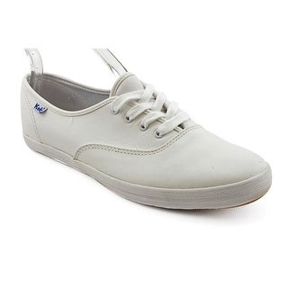 Keds Champion Oxford  Women  Round Toe Leather White Sneakers