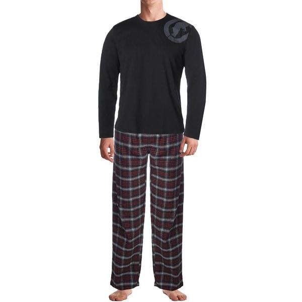 4243bfbec2 Shop Ecko Unltd. Mens Pajama Set 2PC Flannel - Free Shipping On ...