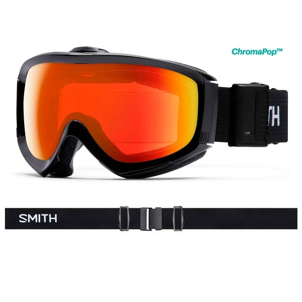 de3e4505bd79 Shop Smith Optics 2017 18 Prophecy Turbo Fan Goggle - Black Frame ...