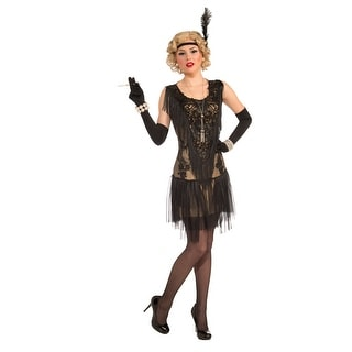 Roaring 20's Lacey Lindy Costume Adult Standard