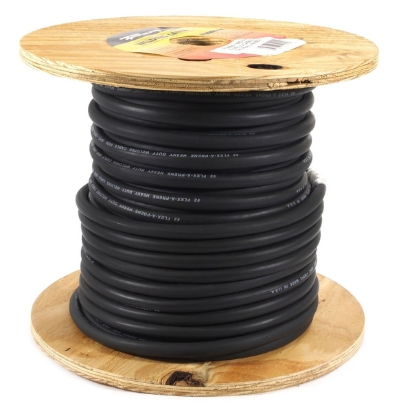 Shop Forney 52024 Welding Cable, # 2 Gauge, 125u0027 Reel   Free Shipping Today    Overstock   13459773