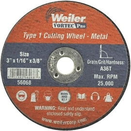 Weiler 3X1/16 Abrasive Wheel
