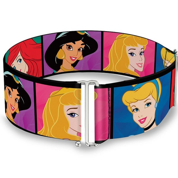 Disney Princess Blocks Cinch Waist Belt ONE SIZE