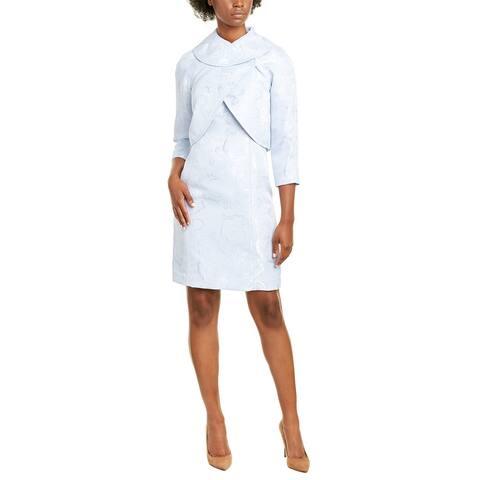 Tahari Asl 2Pc Jacket & Dress Set