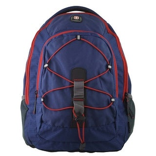 "SwissGear Mars Navy with Red 16"" Laptop Backpack Case"