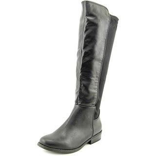 Rampage Ivory Round Toe Synthetic Knee High Boot
