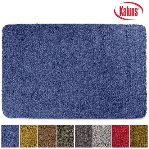 Kaluns Door Mat, Doormats for Entrance Way, Non Slip PVC Waterproof Backing, Super Absorbent, Machine Washable 24x36