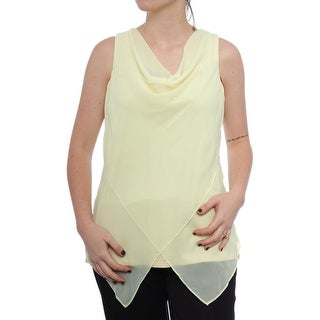 Alfani Soft Dressing Sleeveless Cowl Neck Blouse Women Regular Blouse