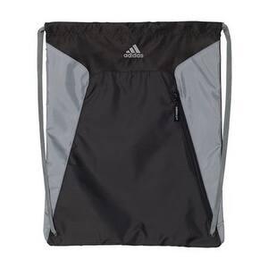 Adidas Gym Sack - Black/ Grey - One Size
