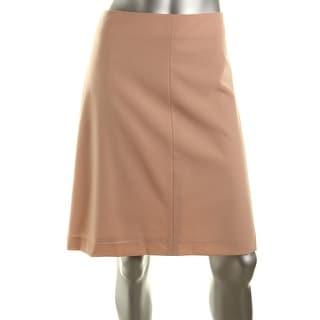 Theory Womens Quinar Wool Blend Lined A-Line Skirt - 10
