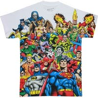 DC Heroes and Villains Dye Men's Sublimated Shirt