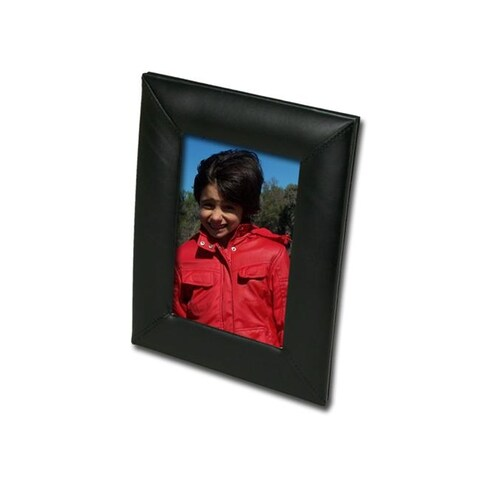 Dacasso A1017 Leather 4x6 Photo Frame