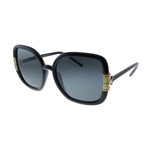 Tory Burch TY 9063U 179187 Womens Black Frame Grey Lens Sunglasses