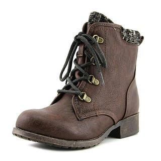 Jellypop Easley Women Round Toe Synthetic Brown Ankle Boot|https://ak1.ostkcdn.com/images/products/is/images/direct/a4e47feeabb8df77e0102a07126d83f58889fece/Jellypop-Easley-Women-Round-Toe-Synthetic-Brown-Ankle-Boot.jpg?impolicy=medium