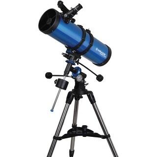 Meade Polaris 130mm German Equatorial Reflector Telescope - Blue