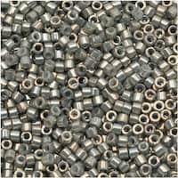 Miyuki Delica Seed Beads 11/0 - Galvanized Gray Luster DB251 - 7.2 Grams
