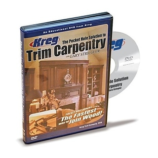 Kreg V07-DVD Pocket Hole Solution To Trim Carpentry