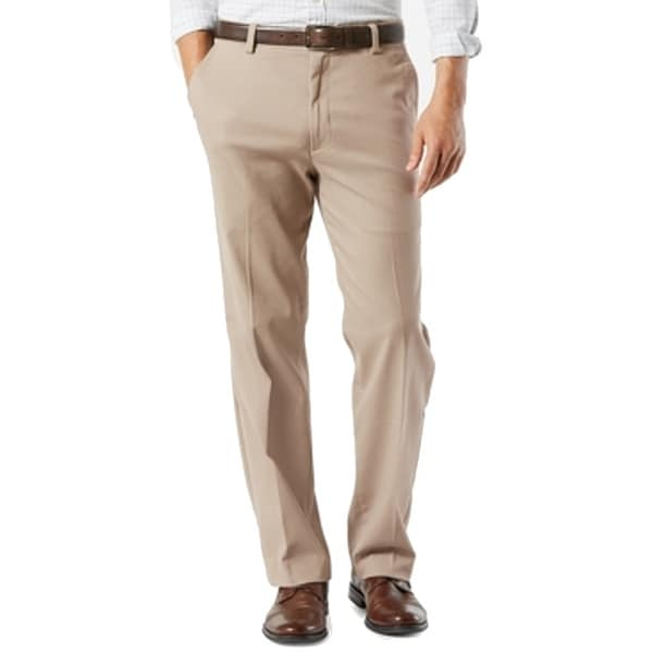 Dockers Mens Pants Beige Size 38x30 Flat Front Khakis Classic Stretch. Opens flyout.