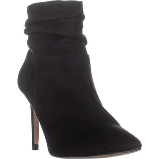 XOXO Taniah Pointed Toe Ankle Boots, Black