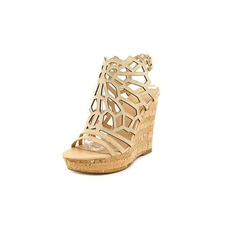 Charles By Charles David Apollo Women  Open Toe Suede  Wedge Sandal