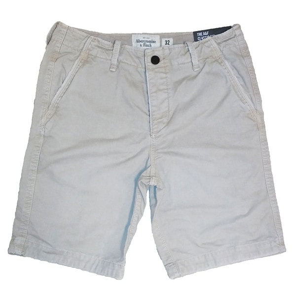 278e4983d7670 Shop Abercrombie & Fitch NY The A&F Classic Fit At The Knee Cotton Shorts -  Free Shipping On Orders Over $45 - Overstock - 21236720