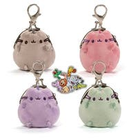 "Pusheen Pastel 3"" Coin Purse Purple"